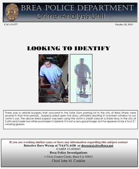 identify suspect